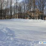 Каток в парке им. Николаева