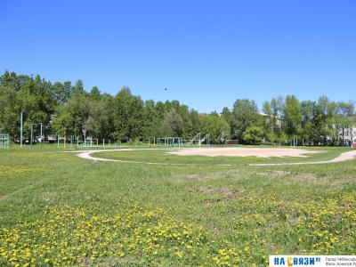 Спортивная площадка педколледжа