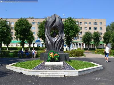 Памятник ликвидаторам радиационных катастроф