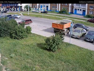 Городская видеокамера cam9710