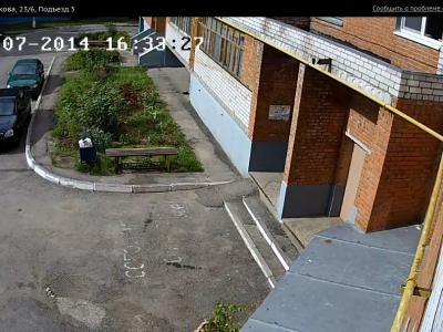 Городская видеокамера cam9714