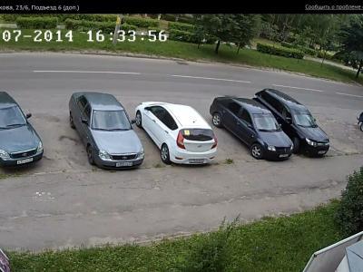 Городская видеокамера cam9718