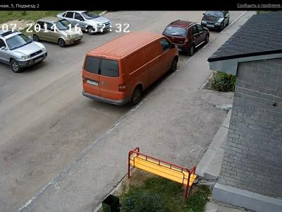 Городская видеокамера cam9748