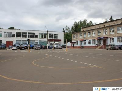 Автодром Чебоксарского техникума Трансстройтех