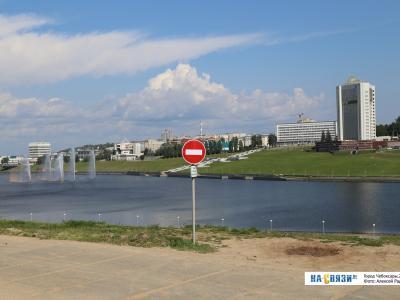Кирпич на Чебоксарском заливе