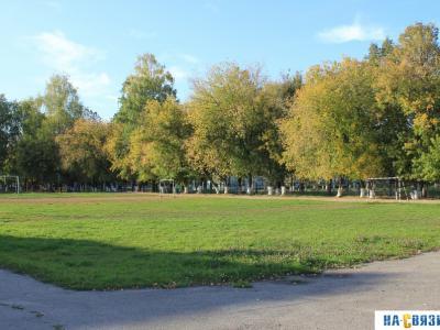 Спортивная площадка бывшей школы №1