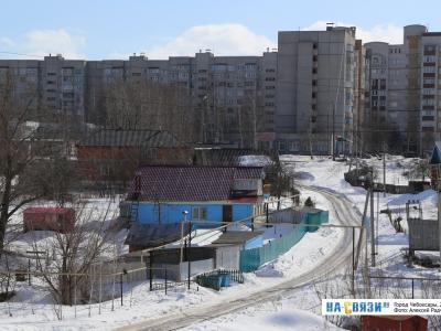 Деревня Пятино зимой