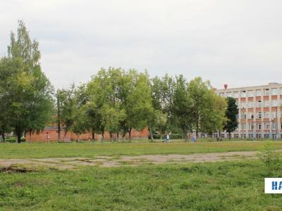 Футбольное поле 8 школы