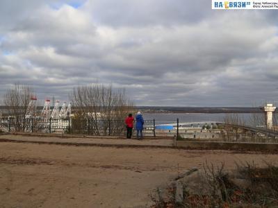 Смотровая площадка на ГЭС