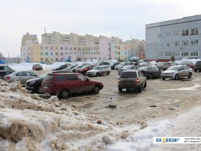 Больничная парковка