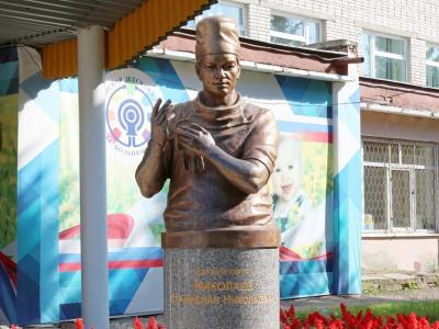 Бюст Станислава Николаева