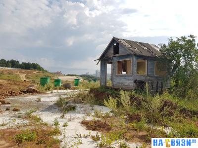 Дачи на островах микрорайона Радужный