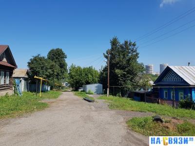 Конец улицы Пионерская