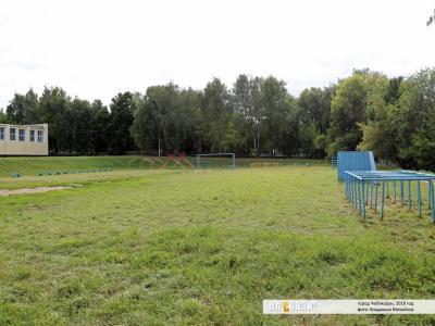 Спортивное поле Кадетской школы