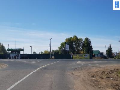 Выезд с Кировской дороги на трассу М7