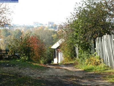 Спуск с Калининского моста в сторону ул.Байдукова