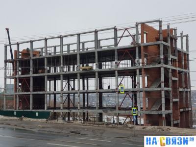Строительство многофункционального комплекса по Президентскому бульвару