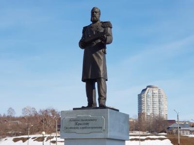 Памятник А.Н. Крылову