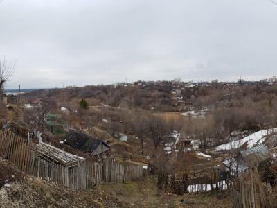 Панорама - Вид на овраг