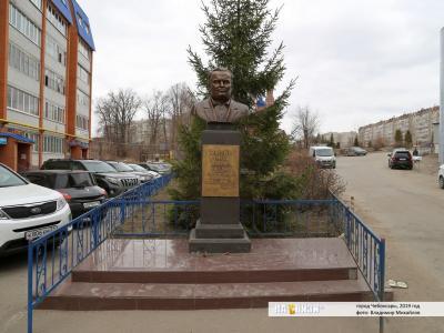 Памятник Сергею Королёву