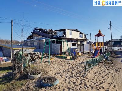 Детская площадка на улице Гончарова