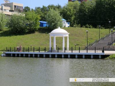 Смотровая площадка на Афанасьевском пруду
