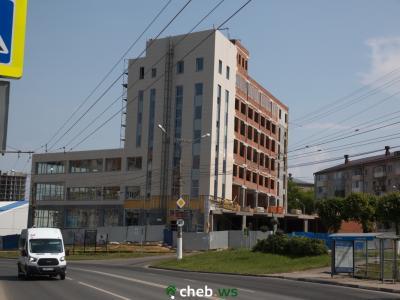 Здание на пересечении ул. Гагарина и П.Лумумбы