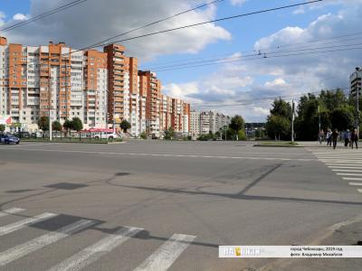 Светофор возле Больничного комплекса