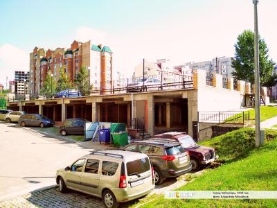 Стройка гаражей