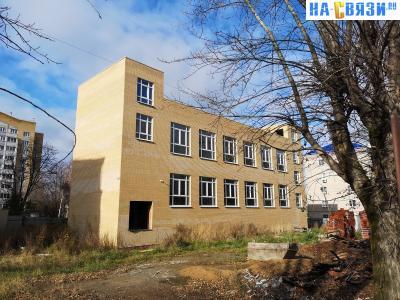 Строительство торгового центра по улице Гражданская