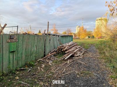 Забор дома ул. Чебоксарская 33А