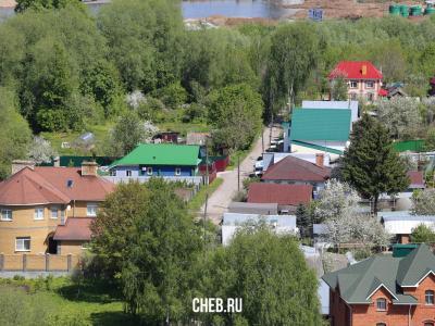 Вид сверху на улицу 2-я Коммунальная слобода