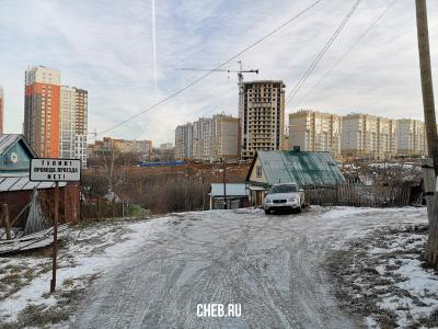 """Переулок Белинского - """"Тупик! Прохода, проезда нет!"""""""