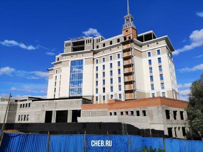 """Строительство отеля """"Одис"""""""