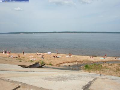 Заовражный пляж