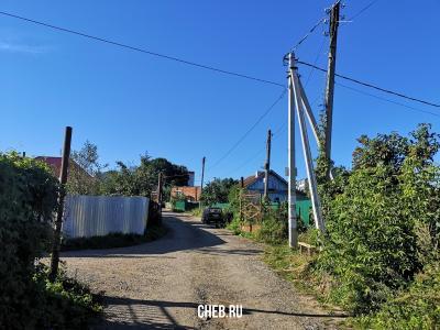 Дорога в сторону Чапаевского поселка