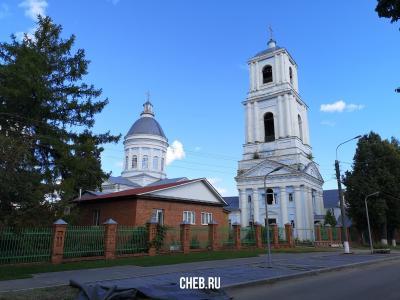 Свято-Троицкий собор г. Ядрин