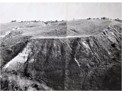 Склон у деревни Соляное, 1970 год