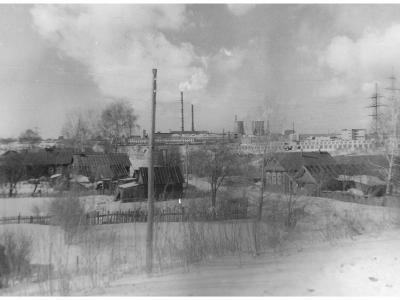 Деревня Пятино, улица Светлая, 1991 год