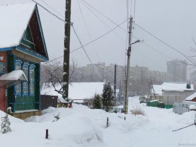 Зима на улице Светлая