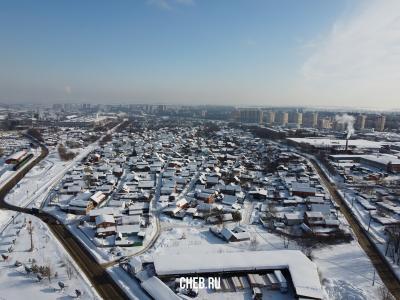 Вид сверху на Шанхай