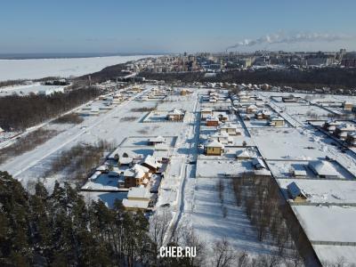 Вид сверху на улицу Можжевеловая
