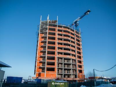 Строительство 22-этажного дома ЖК «Ривьера»