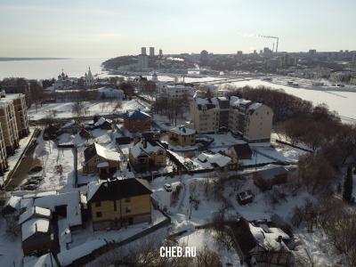 Дома по улице 1-я Овражная