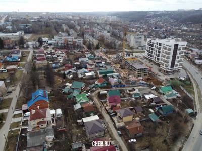 Вид сверху на улицу Смирнова