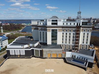 """Строительство гостиницы """"Гранд отель Мегаполис"""""""