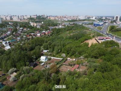 Вид сверху на улицу Осоавиахимовская