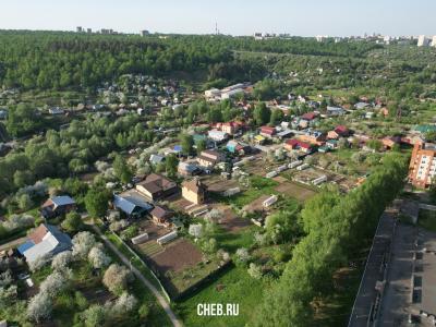 Вид сверху на частный сектор по улице Тельмана - Протопопиха
