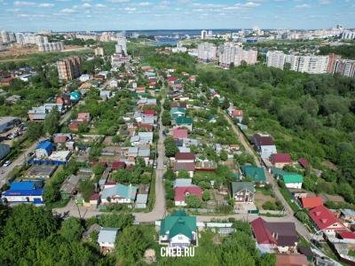 Вид сверху на улицу Гончарова - Богданка
