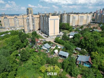 Вид на частный сектор - улица Маяковского
